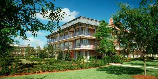 *DISNEY'S PORT ORLEANS RESORT - FRENCH QUARTER*