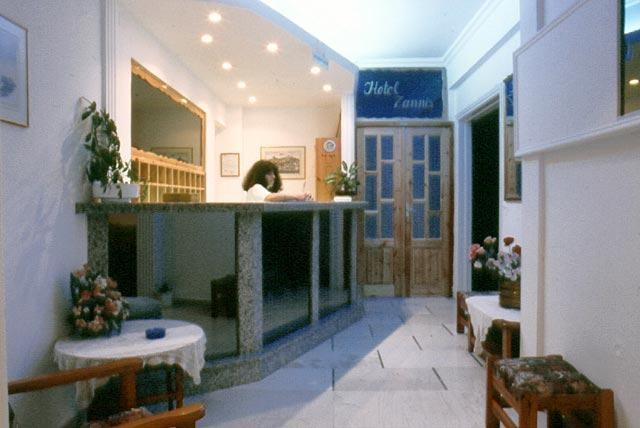 Zannis Hotel-Reception