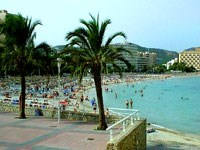 Beaches near Palma