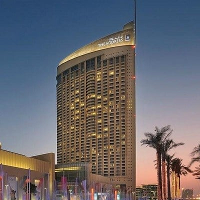 The Address Dubai Mall (Deluxe Burj View/ Room Only)