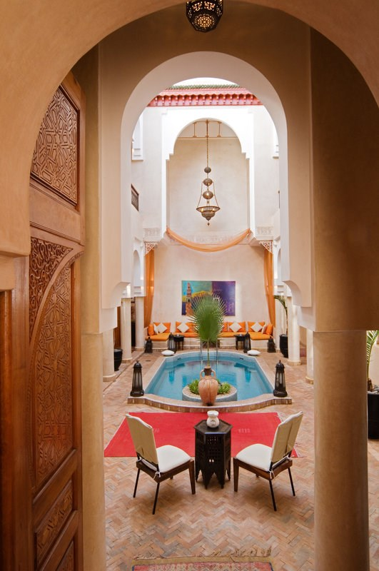 Riad Lydines - Pool View