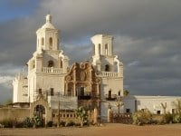 The Mission San Xavier del Bac
