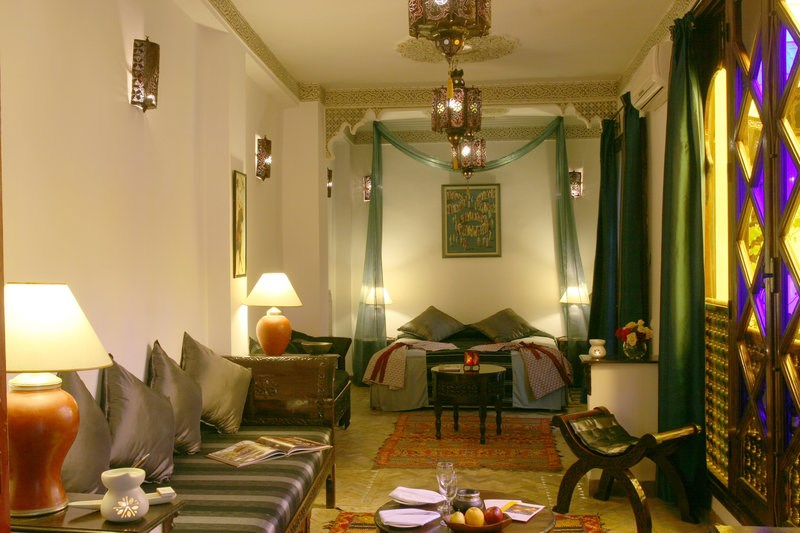 Riad Blanc - Suite - Overall View