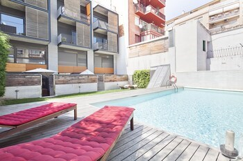 My Space Barcelona Pool with Terrace