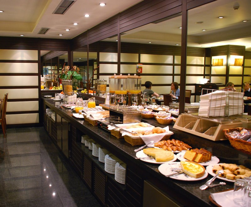 Buffet Breakfast Area