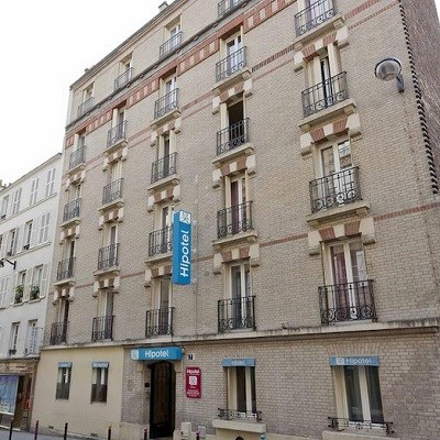 Hipotel Paris Buttes Chaumont Pyrenees (Room Only/ Non-Refundable)