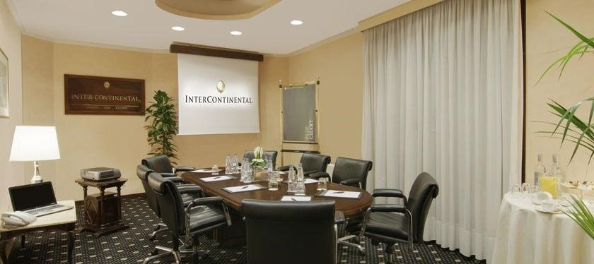 Intercontinental De La Ville-Europa Boardroom