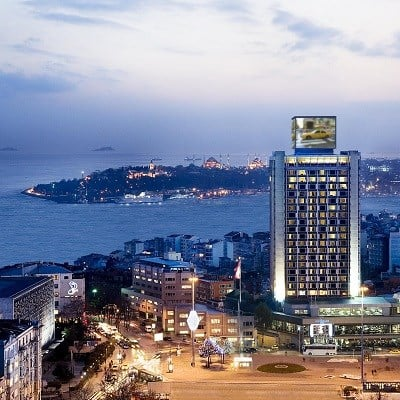 The Marmara Taksim (Deluxe Bosphorus View/ Room Only)
