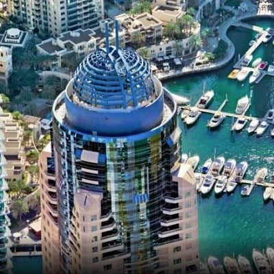Dubai Marriott Harbour Hotel & Suites (1-Bedroom Suite/ Room Only)