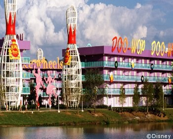 Disney's Pop Century Resort Classic Years 04228