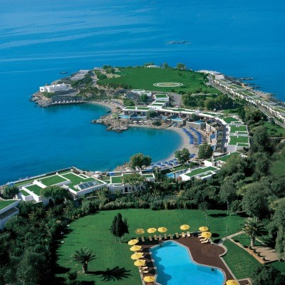 Grand Resort Lagonissi (Deluxe Beachfront Bungalow/ Special/ 25km from Athens)