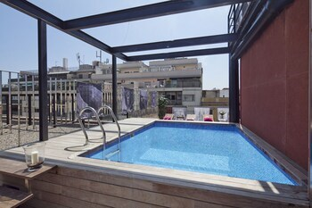 My Space Barcelona Rooftop Pool City Center