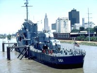 Baton Rouge Nautical Center and the USS Kidd