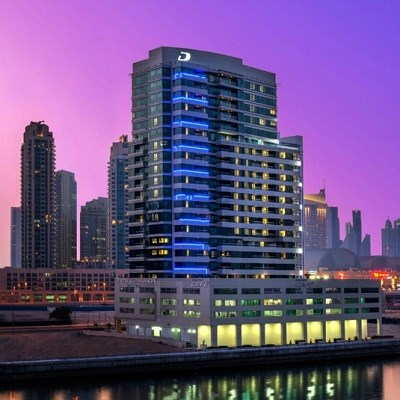 DAMAC Maison Canal Views (Deluxe Downtown View/ Room Only)