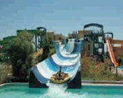 Titanic Palace and Aqua Park water slide