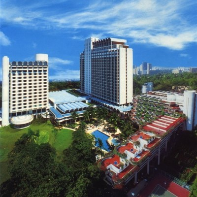 Shangri-La Singapore (Garden Wing Deluxe/ City View)
